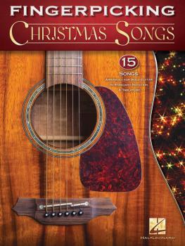 Fingerpicking Christmas Songs: 15 Songs Arranged for Solo Guitar in St (HL-00171333)