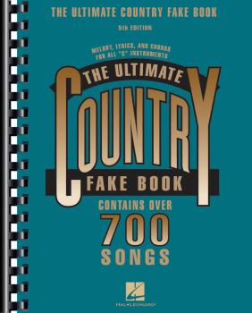 The Ultimate Country Fake Book - 5th Edition (C Instruments) (HL-00240049)