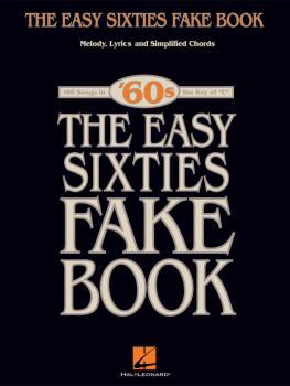 The Easy Sixties Fake Book (HL-00240253)