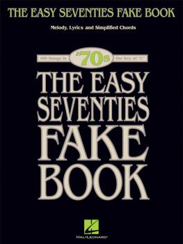 The Easy Seventies Fake Book (HL-00240256)