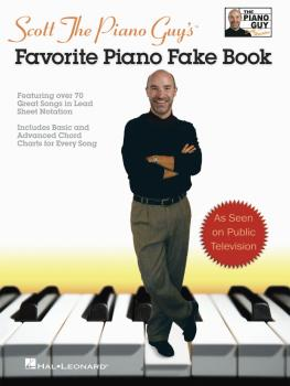 Scott The Piano Guy's Favorite Piano Fake Book (HL-00240281)