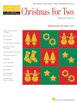 Christmas for Two - Medley Duets (Composer Showcase Series 1 Piano, 4  (HL-00290069)