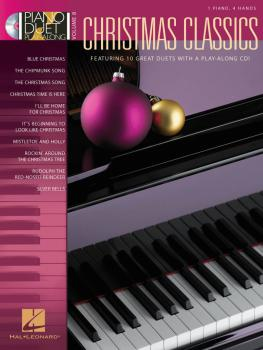 Christmas Classics: Piano Duet Play-Along Volume 8 (HL-00290554)