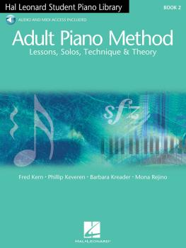 Adult Piano Method - Book 2: Lessons, Solos, Technique, & Theory (HL-00296480)