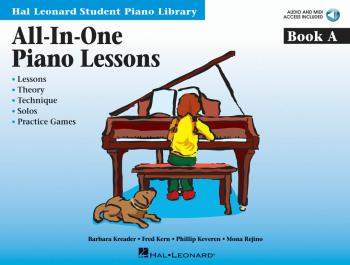 All-in-One Piano Lessons Book A: Book with Audio and MIDI Access Inclu (HL-00296761)