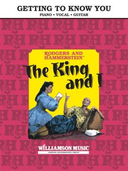 Getting to Know You (From The King and I) (HL-00303745)