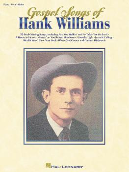 Gospel Songs of Hank Williams (HL-00306305)