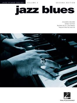 Jazz Blues - 2nd Edition: Jazz Piano Solos Series Volume 2 (HL-00306522)