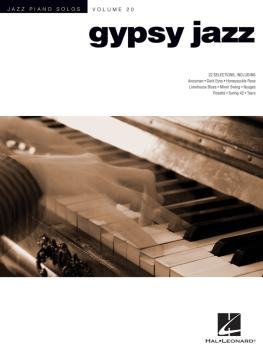 Gypsy Jazz: Jazz Piano Solos Series Volume 20 (HL-00307289)