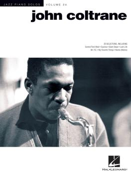 John Coltrane: Jazz Piano Solos Series Volume 24 (HL-00307395)