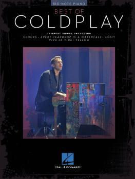 Best of Coldplay for Big-Note Piano (HL-00309309)