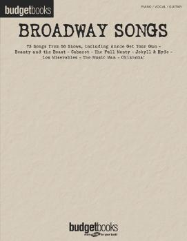 Broadway Songs (Budget Books) (HL-00310832)
