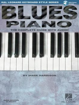 Blues Piano: Hal Leonard Keyboard Style Series (HL-00311007)
