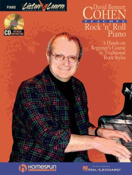 David Bennett Cohen Teaches Rock'n'Roll Piano: A Hands-On Beginner's C (HL-00311012)