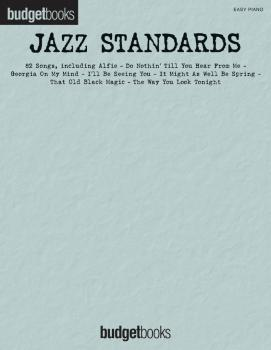 Jazz Standards: Easy Piano Budget Books (HL-00311122)