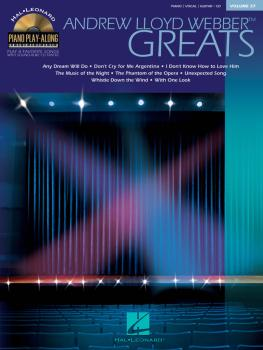 Andrew Lloyd Webber Greats: Piano Play-Along Volume 27 (HL-00311179)