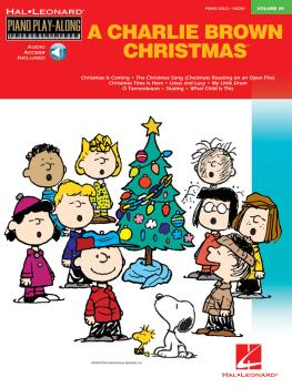 Charlie Brown Christmas: Piano Play-Along Volume 34 (HL-00311228)
