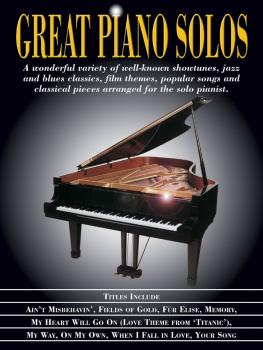 Great Piano Solos: Showtunes, Jazz & Blues, Film Themes, Pop Songs & C (HL-00311273)