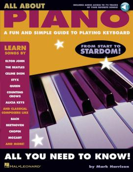 All About Piano: A Fun and Simple Guide to Playing Piano (HL-00311298)