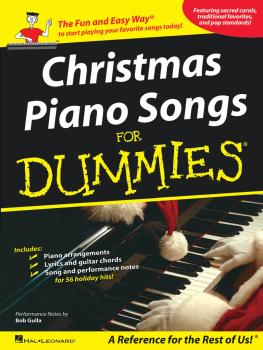 Christmas Piano Songs for Dummies (HL-00311387)