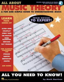 All About Music Theory: A Fun and Simple Guide to Understanding Music (HL-00311468)