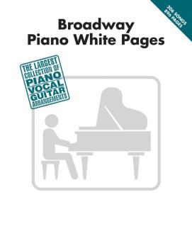 Broadway Piano White Pages (HL-00311500)