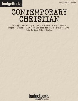 Contemporary Christian (Budget Books) (HL-00311732)