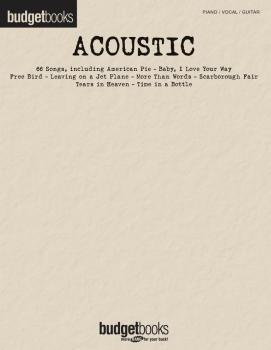 Acoustic (Budget Books) (HL-00311857)