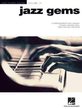 Jazz Gems: Jazz Piano Solos Series Volume 13 (HL-00311899)