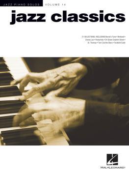 Jazz Classics: Jazz Piano Solos Series Volume 14 (HL-00311900)