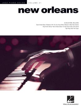 New Orleans Jazz Piano Solos: Jazz Piano Solos Volume 21 (HL-00312169)