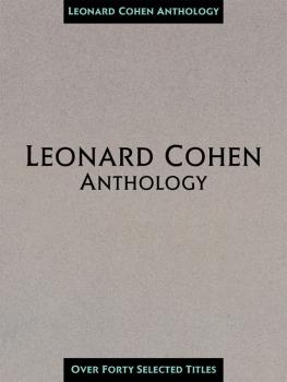 Leonard Cohen Anthology (HL-00313180)