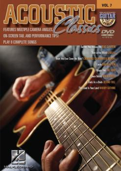 Acoustic Classics: Guitar Play-Along DVD Volume 7 (HL-00320522)