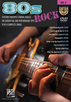 '80s Rock: Guitar Play-Along DVD Volume 9 (HL-00320523)