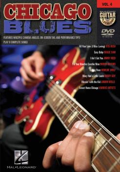 Chicago Blues: Guitar Play-Along DVD Volume 4 (HL-00320524)