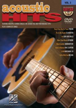 Acoustic Hits: Guitar Play-Along DVD Volume 3 (HL-00320527)