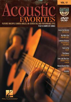 Acoustic Favorites: Guitar Play-Along DVD Volume 17 (HL-00320647)