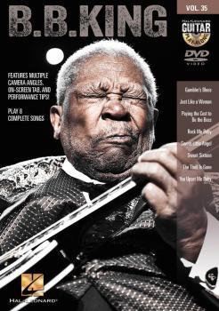 B.B. King: Guitar Play-Along DVD Volume 35 (HL-00321214)