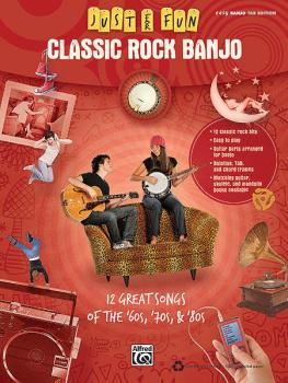 Classic Rock Banjo (Just for Fun Series) (HL-00322272)