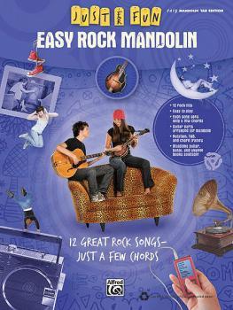 Easy Rock Mandolin (Just for Fun Series) (HL-00322275)