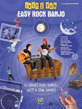 Easy Rock Banjo (Just for Fun Series) (HL-00322276)