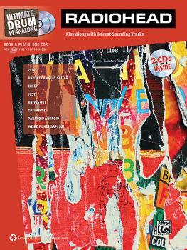 Radiohead - Ultimate Drum Play-Along (Book/2-CDs Pack) (HL-00322456)