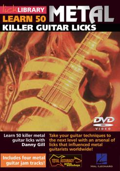 50 Metal Killer Licks: Guitar Workshop with Note-for-Note Tutorials (HL-00393001)