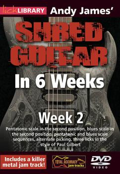 Andy James' Shred Guitar in 6 Weeks (Week 2) (HL-00393159)