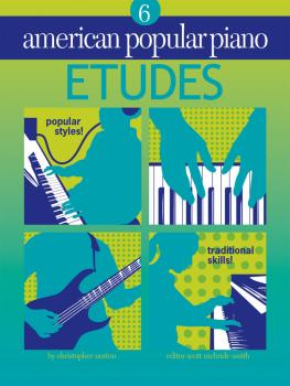 American Popular Piano - Etudes (Etudes Level 6) (HL-00399017)
