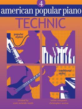 American Popular Piano (Level Four - Technic) (HL-00399037)
