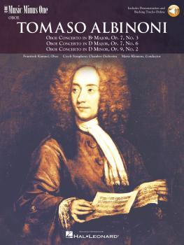 Albinoni - Oboe Concerti B-flat, Op. 7 No. 3; D Major, Op. 7, No. 6; D (HL-00400379)