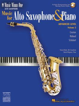 Advanced Alto Sax Solos - Volume 2 (HL-00400603)