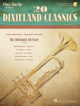 20 Dixieland Classics: Music Minus One Trumpet Deluxe 2-CD Set (HL-00400617)