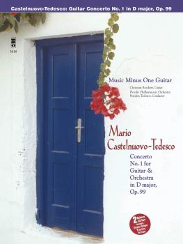 Castelnuovo-Tedesco - Guitar Concerto No. 1 in D Major, Op. 99: Music  (HL-00400683)